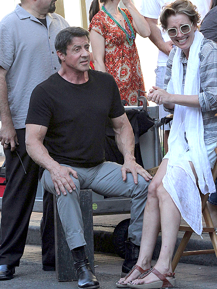 Sylvester Stallone, Emma Thompson