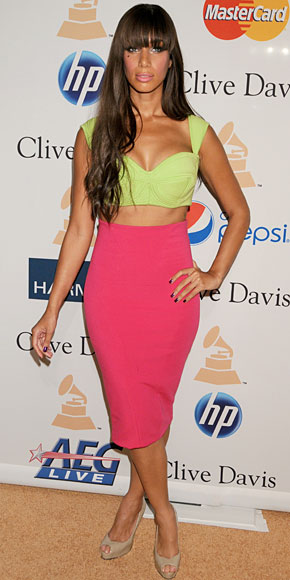 LEONA LEWIS, Cropped Tops, tendencia