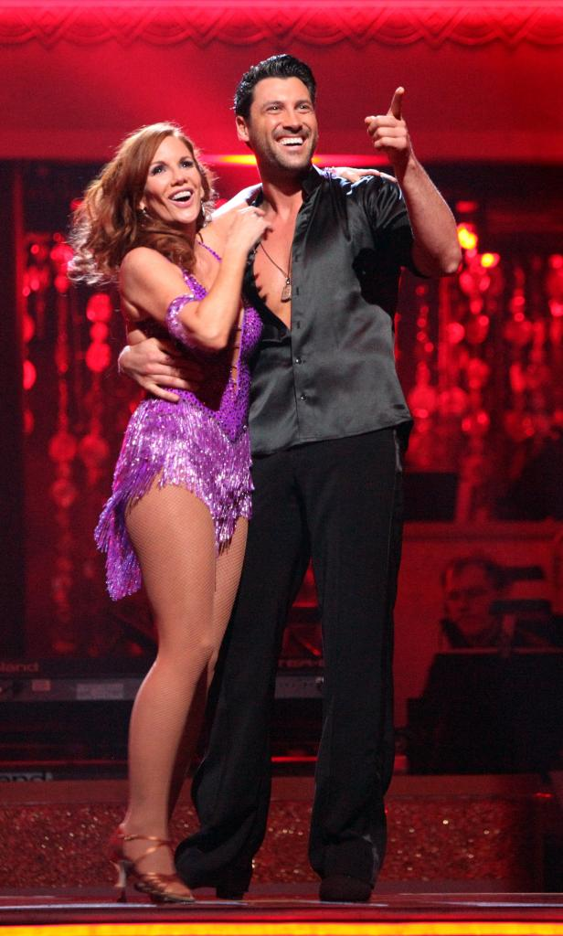 Melissa Gilbert y Maksim Chmerkovskiy
