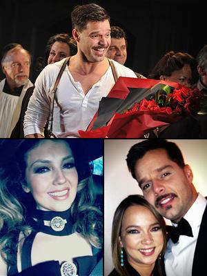 Ricky Martin, Thalía, Adamari López