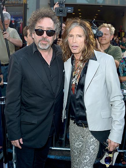 Tim Burton, Steven Tyler