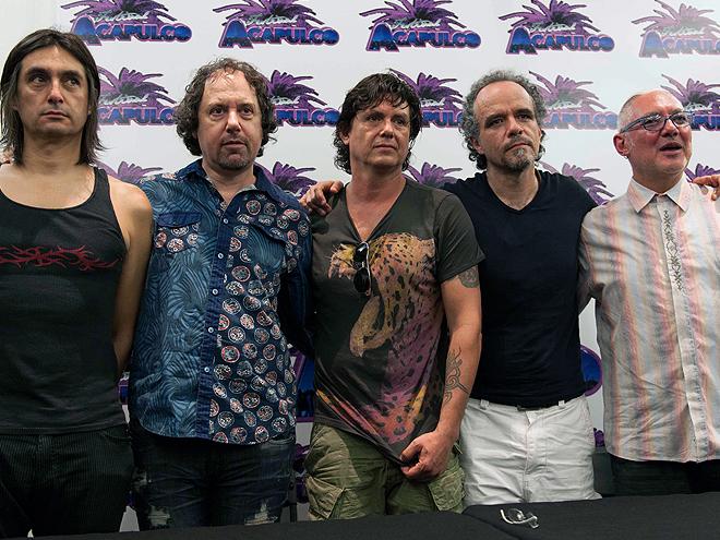 Alfonso André, Alejandro Marcovich, Saúl Hernández, Diego Herrera, Sabo Romo