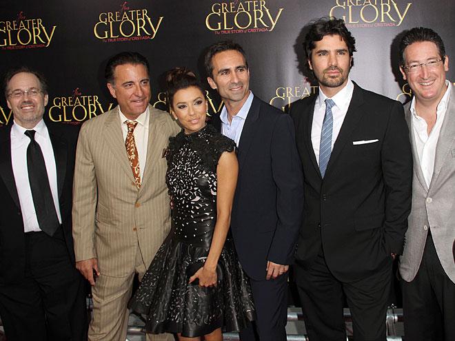 Dean Writght, Andy García, Eva Longoria, Nestor Carbonell, Eduardo Verástegui, Pablo José Barroso