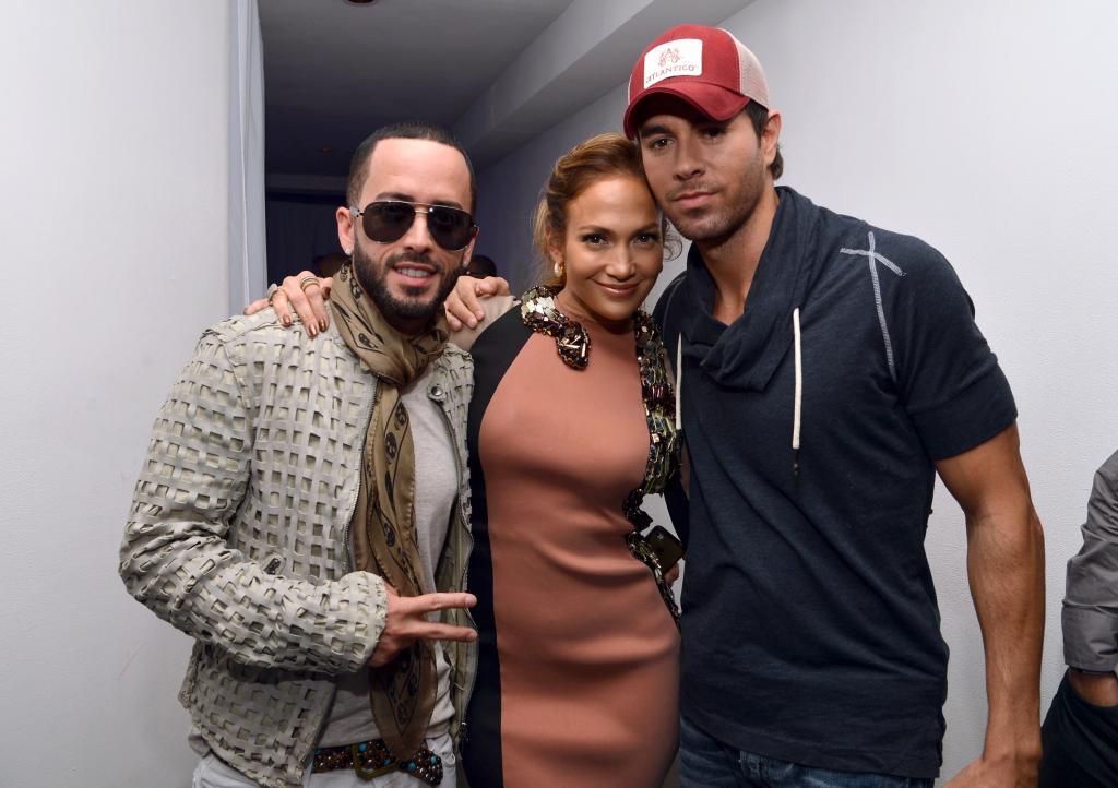 Jennifer López, Enrique Iglesias, Wisin y Yandel