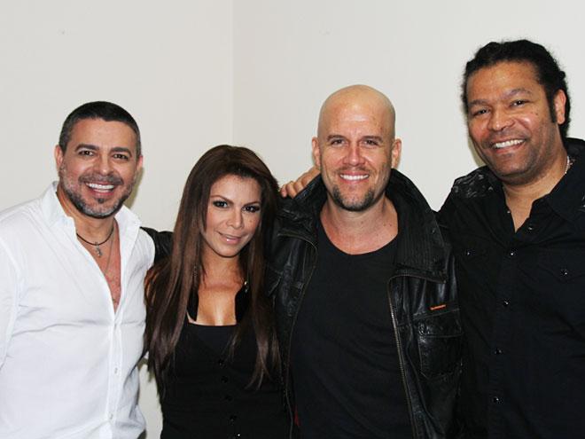 Luis Enrique, Olga Tañón, GianMarco y Amaury Gutiérrez