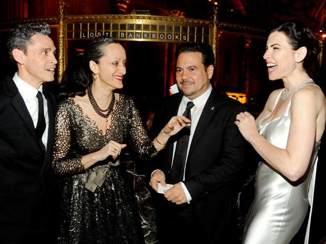 Rubén Toledo, Isabel Toledo, Narciso Rodríguez, Julianna Margulies, La gala del Museo del Barrio
