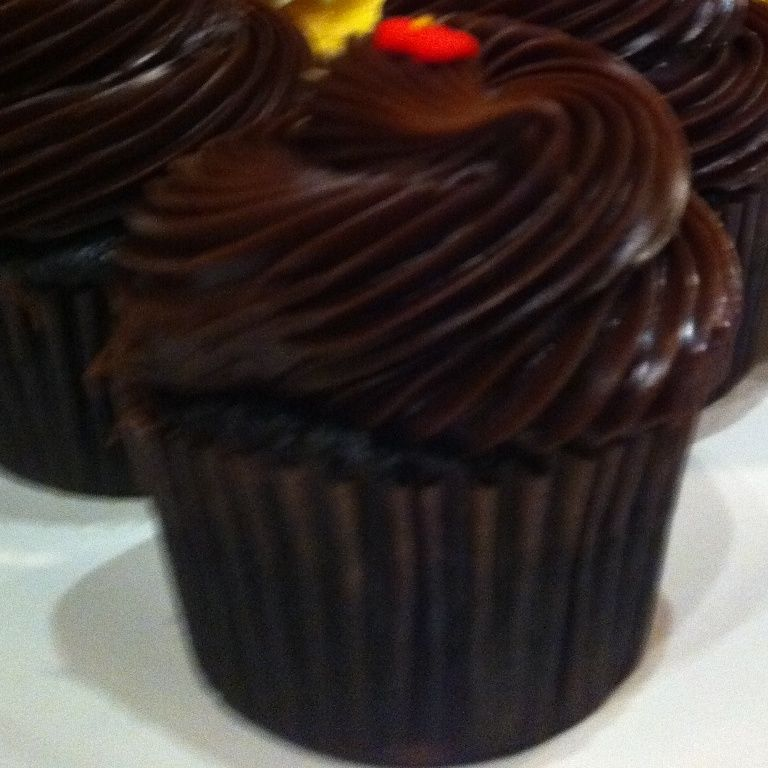 Cubierta de chocolate para pastel