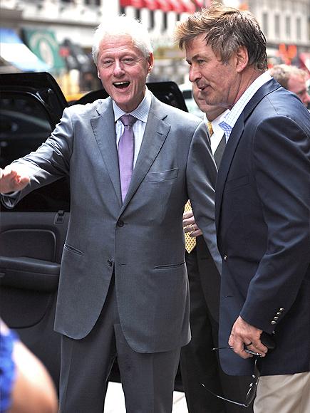 Alec Baldwin, Bill Clinton
