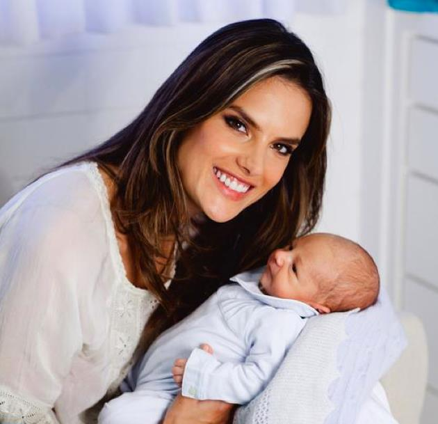 Alessandra Ambrosio, Noah, bebes 2012