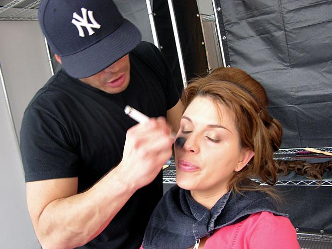 Alicia Machado, Tras bastidores Bellos 2012
