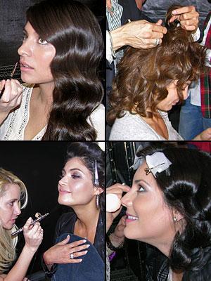 Belleza tras bastidores Bellos 2012