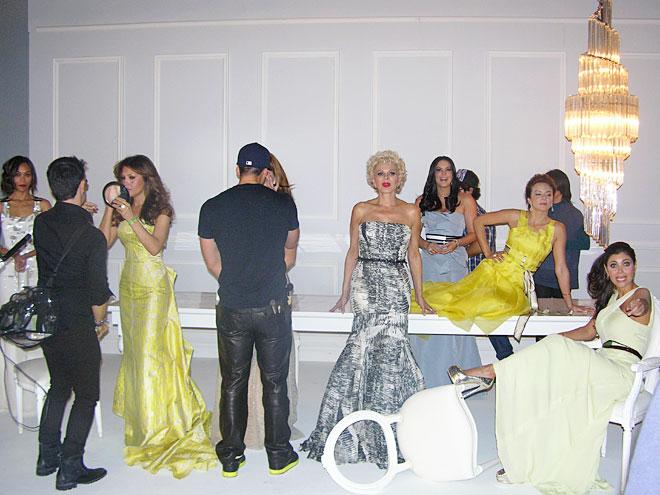 Tras bastidores Bellos 2012