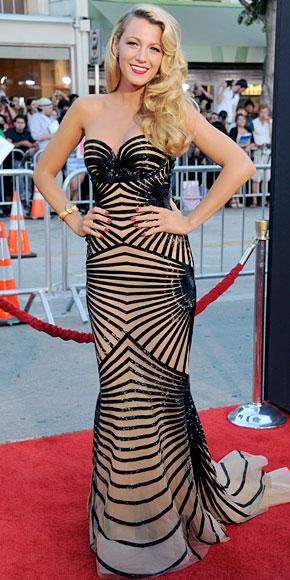BLAKE LIVELY, Mejor vestidos 2012
