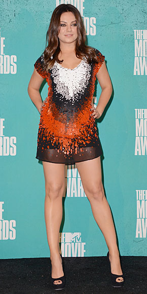 MILA KUNIS, MTV Movie Awards