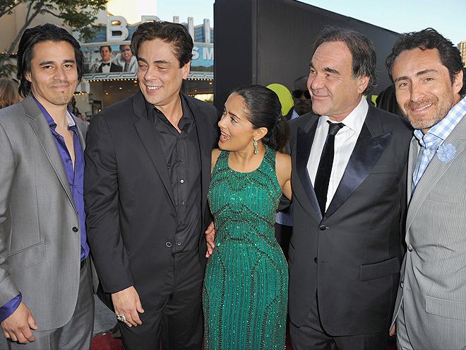 Antonio Jaramillo, Benicio Del Toro, Salma Hayek, Oliver, Stone, Demián Bichir