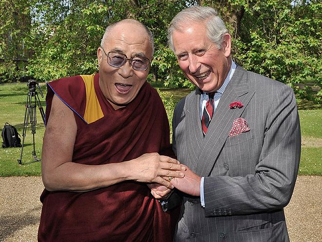 Príncipe Charles de Inglaterra, Dalai Lama