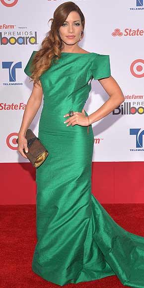 Adriana Fonseca, Latin Billboard 2012