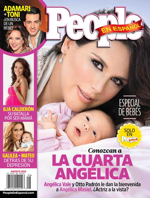 Angélica Vale y su hija Angélica Masiel en la portada de People en Español