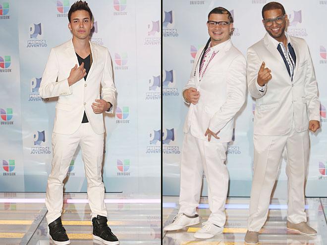 Prince Royce,Jowell y Randy, Premios Juventud 2012