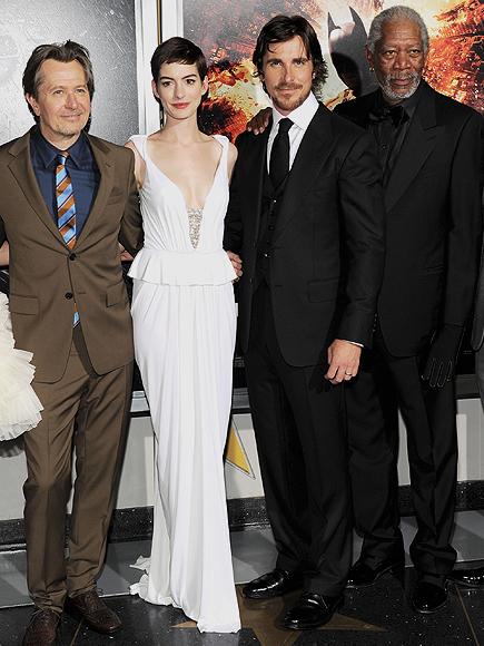 Gary Oldman, Anne Hathaway, Christian Bale, Morgan Freeman