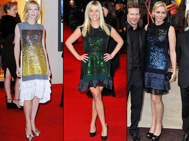 Cate Blanchett, Reese Witherspoon, Charlene Wittstock, Dos mujeres