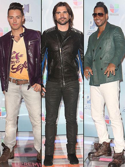 Pee Wee, Juanes y Romeo Santos, Premios Juventud 2012