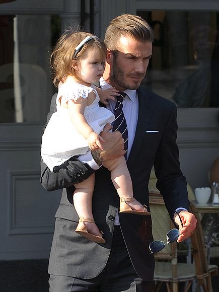 David Beckham, Harper, Miralos