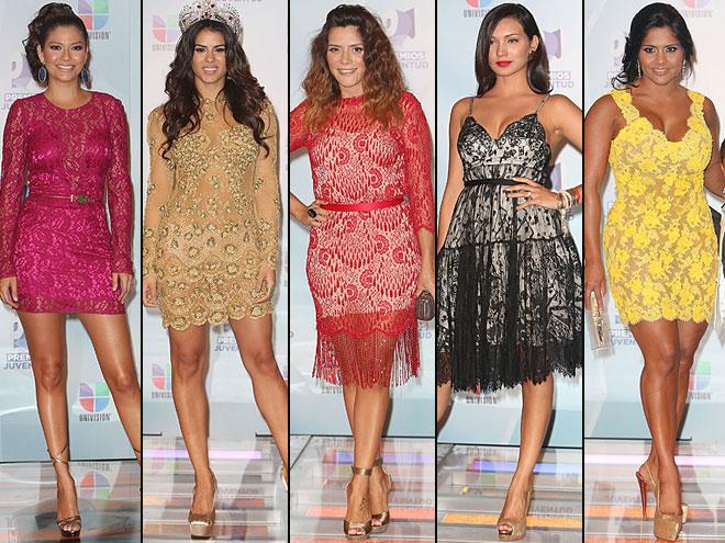 Ana Patricia González, Vanessa de Roide, Kany García, Michelle Vargas, Maripily, Premios Juventud 2012