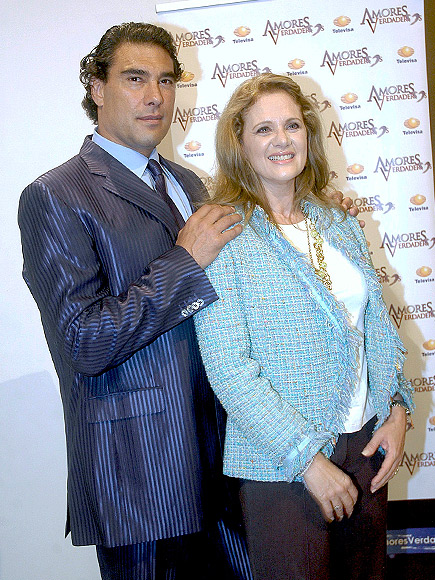 Eduardo Yáñez y Erika Buenfil