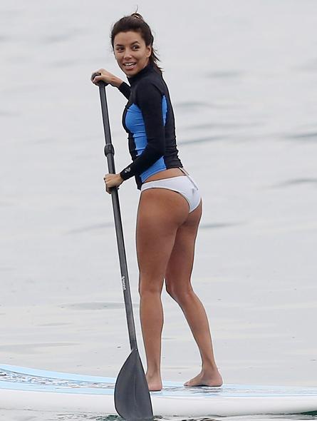 Eva Longoria en Malibu, Miralos