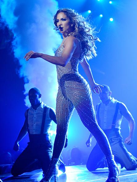 Jennifer Lopez en concierto en Montreal, Canadá