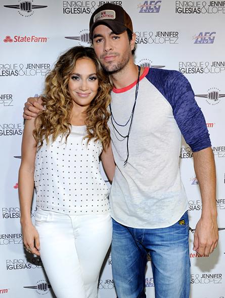 Jennifer Lopez y Enrique Iglesias en Montreal