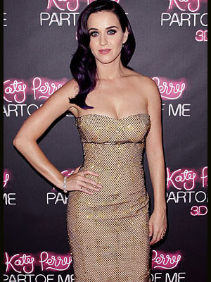 Katy Perry, Top 5