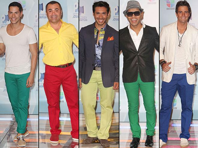 Christian Chávez, Óscar Petit, Christian Ramírez, Samo, Mane de la Parra, Premios Juventud 2012