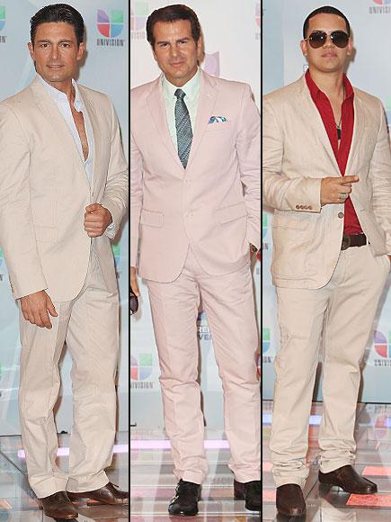 Fernando Colunga, Vincent de Paul, J Álvarez, Premios Juventud 2012