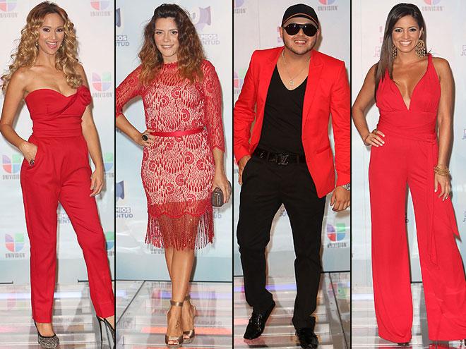 Verónica Bastos, Kany García, Gerardo Ortiz, Pamela Silva Conde, Premios Juventud 2012