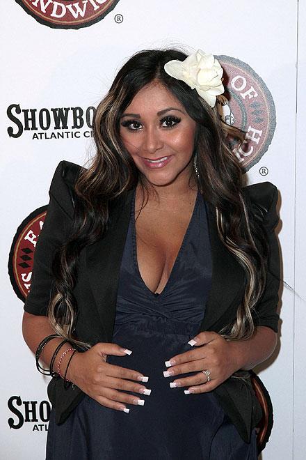 Nicole 'Snooki' Polizzi, bebés 2012