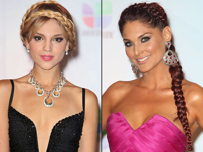 Eiza González, Blanca Soto, Premios Juventud 2012