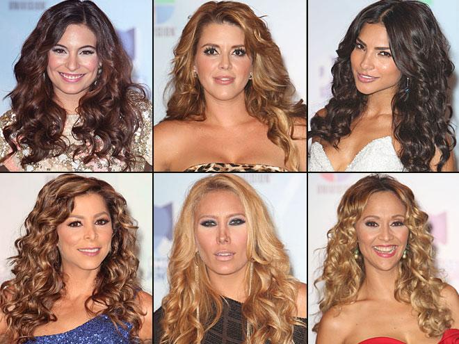 Ana Brenda Contreras, Alicia Machado, Alejandra Espinoza, Lourdes Stephen, Jimena Gallego, Verónica Bastos, Premios Juventud 2012