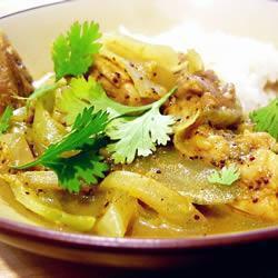 Salsa curry tradicional