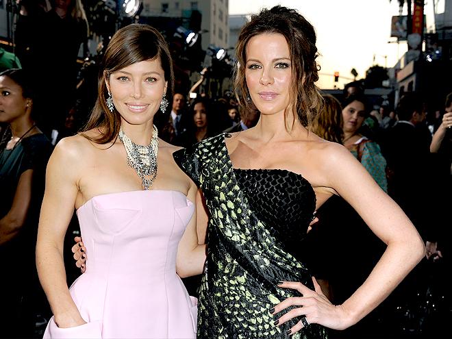 Kate Beckinsale, Jessica Biel