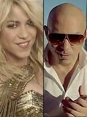 Pitbull, Shakira