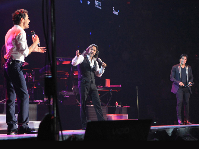 Marc Anthony, Marco Antonio Solis, Chayanne