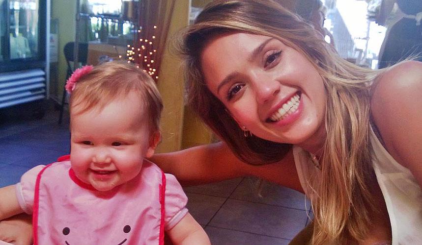 Jessica Alba, Haven, bebés