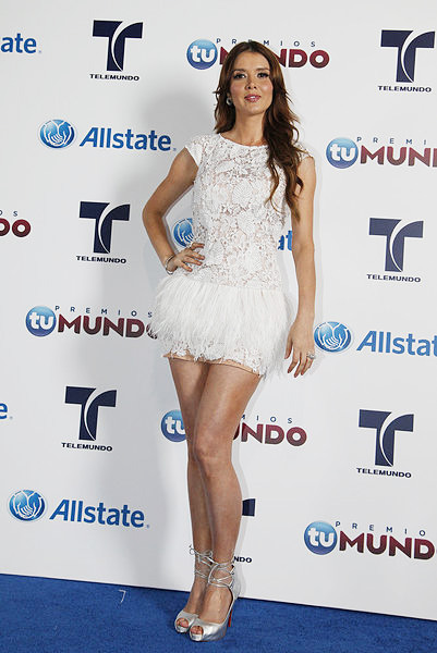 Marlene Favela en Premios Tu Mundo