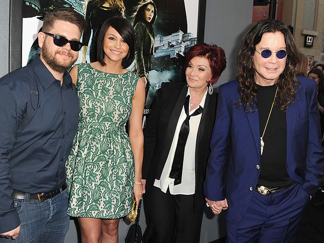 Jack Osbourne, Lisa Osbourne, Sharon Osbourne, Ozzy Osbourne