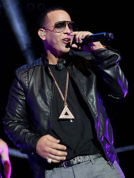 Daddy Yankee en concierto en Los Ángeles