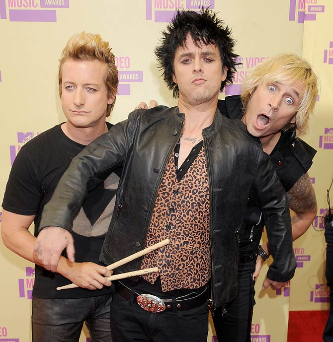 MTV Video Music Awards 2012, Green Day
