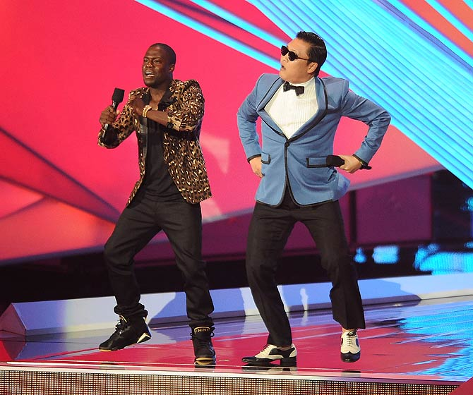 MTV Video Music Awards 2012, Kevin Kart, Psy