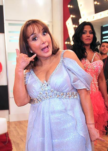 Mira quién baila, Chilindrina, María Antonieta de las Nieves